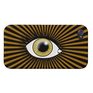 Solar Hazel Eye Cover For iPhone 4