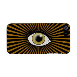 Solar Hazel Eye Metallic Phone Case For iPhone SE/5/5s