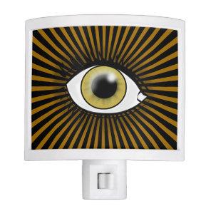 Solar Hazel Eye Night Light