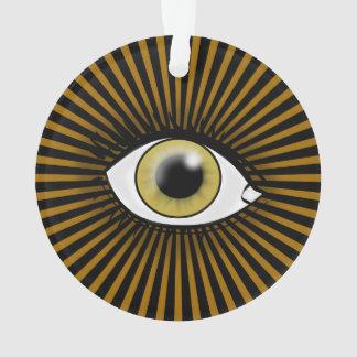 Solar Hazel Eye Ornament