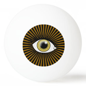 Solar Hazel Eye Ping Pong Ball