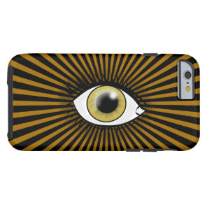 Solar Hazel Eye Tough iPhone 6 Case
