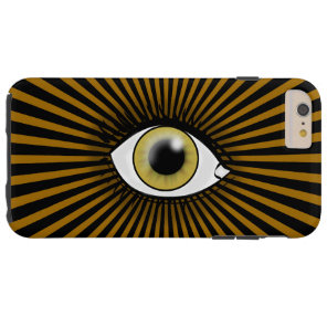 Solar Hazel Eye Tough iPhone 6 Plus Case