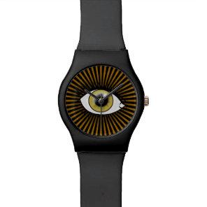 Solar Hazel Eye Wristwatch