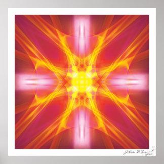 Solar Healing Chamber Poster