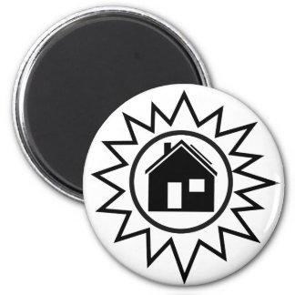 Solar Home Magnet