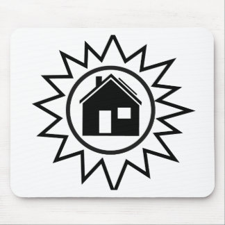 Solar Home Mouse Pad