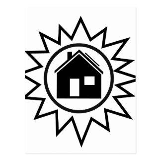Solar Home Postcard