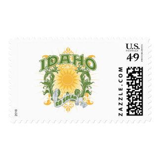 Solar Idaho Postage Stamp