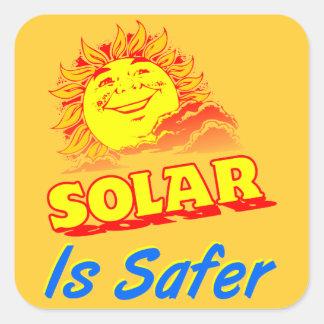 Solar is Safer Sticker