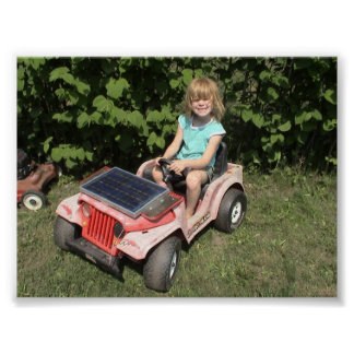 Solar Jeep Posters