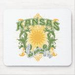 Solar Kansas Mouse Pads