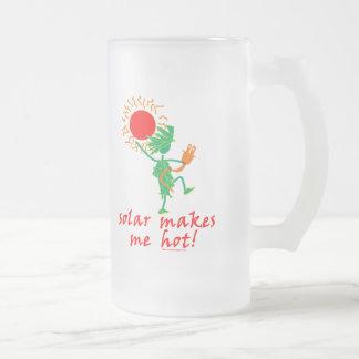 Solar Makes Me Hot! Mugs
