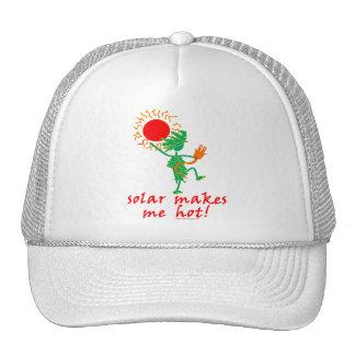 Solar Makes Me Hot! Trucker Hat