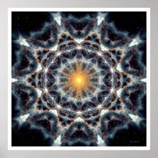 Solar Mandala 4 Poster