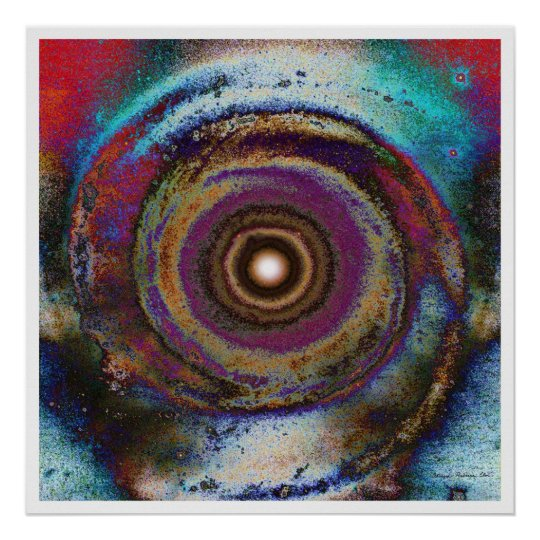 Solar Mandala 9 Poster