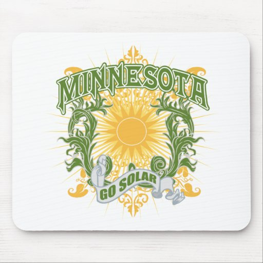Solar Minnesota Mouse Pad