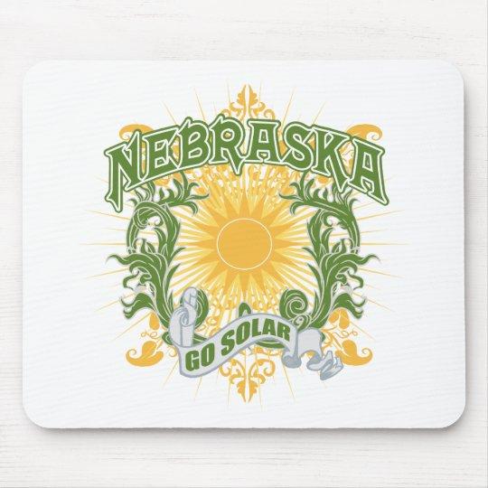 Solar Nebraska Mouse Pad