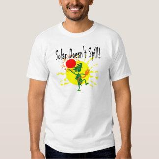 Solar no derrama la camiseta y más remeras