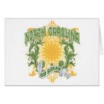 Solar North Carolina Greeting Cards