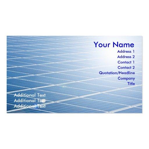 Solar business card templates bizcardstudio solar panel business card colourmoves Image collections