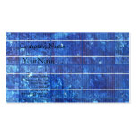 Solar panel business cards