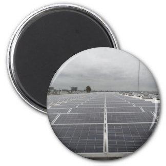 Solar Panel Field Magnet