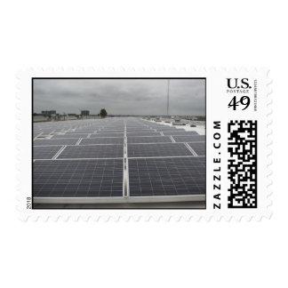 Solar Panel Field Postage