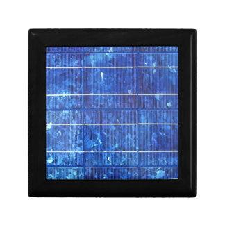 Solar panel trinket boxes