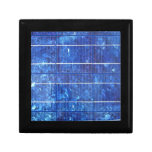 Solar panel jewelry box