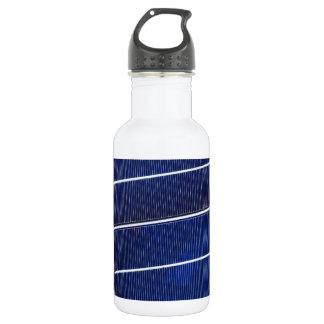 Solar Panel Pattern Stainless Steel Water Bottle