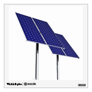 Solar Panel Stands Wall Decal