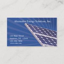 Solar Panels Business Card