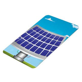 solar Panels cartoon Rectangular Photo Magnet