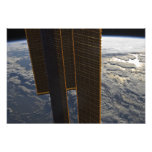 Solar panels of the International Space Station Photo