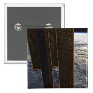 Solar panels of the International Space Station Pinback Button