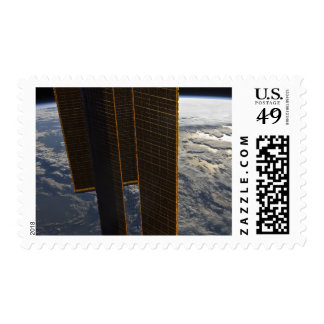 Solar panels of the International Space Station Postage Stamp