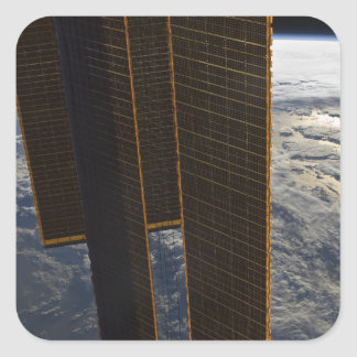 Solar panels of the International Space Station Square Sticker