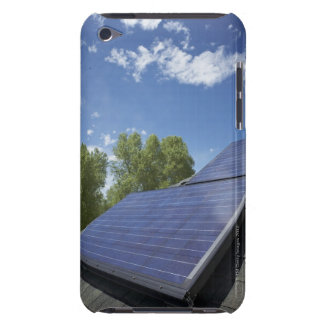 Solar panels on roof barely there iPod cover