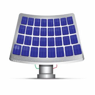 Solar Panels. Cut Out