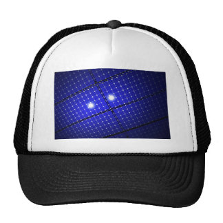 Solar panels roof trucker hat