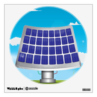 Solar Panels Wall Decal