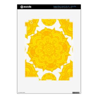 Solar Plexus Chakra Mandala iPad 3 Skin