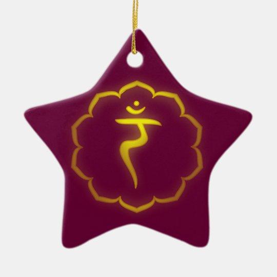 Solar Plexus Chakra Ornament