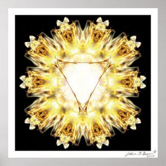 Solar Plexus Chakra Poster