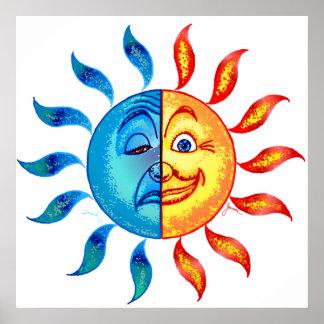 Solar polar del BI Impresiones