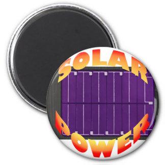 solar power 2 inch round magnet