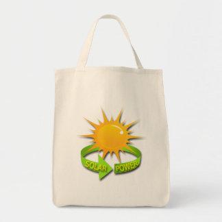 SOLAR POWER CANVAS BAGS