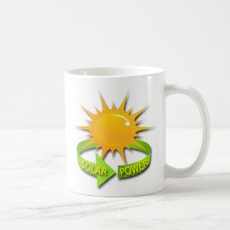 SOLAR POWER COFFEE MUG