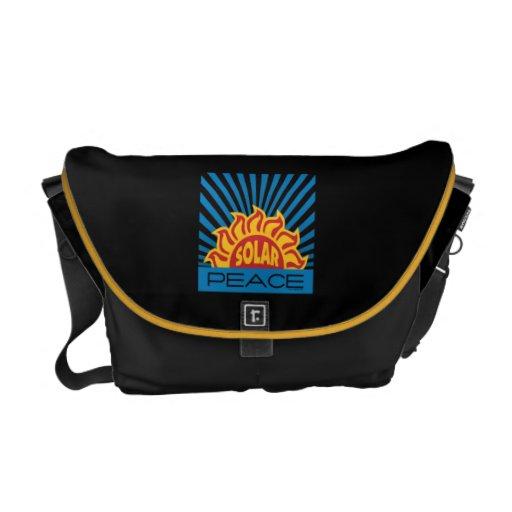 Solar Power Courier Bag